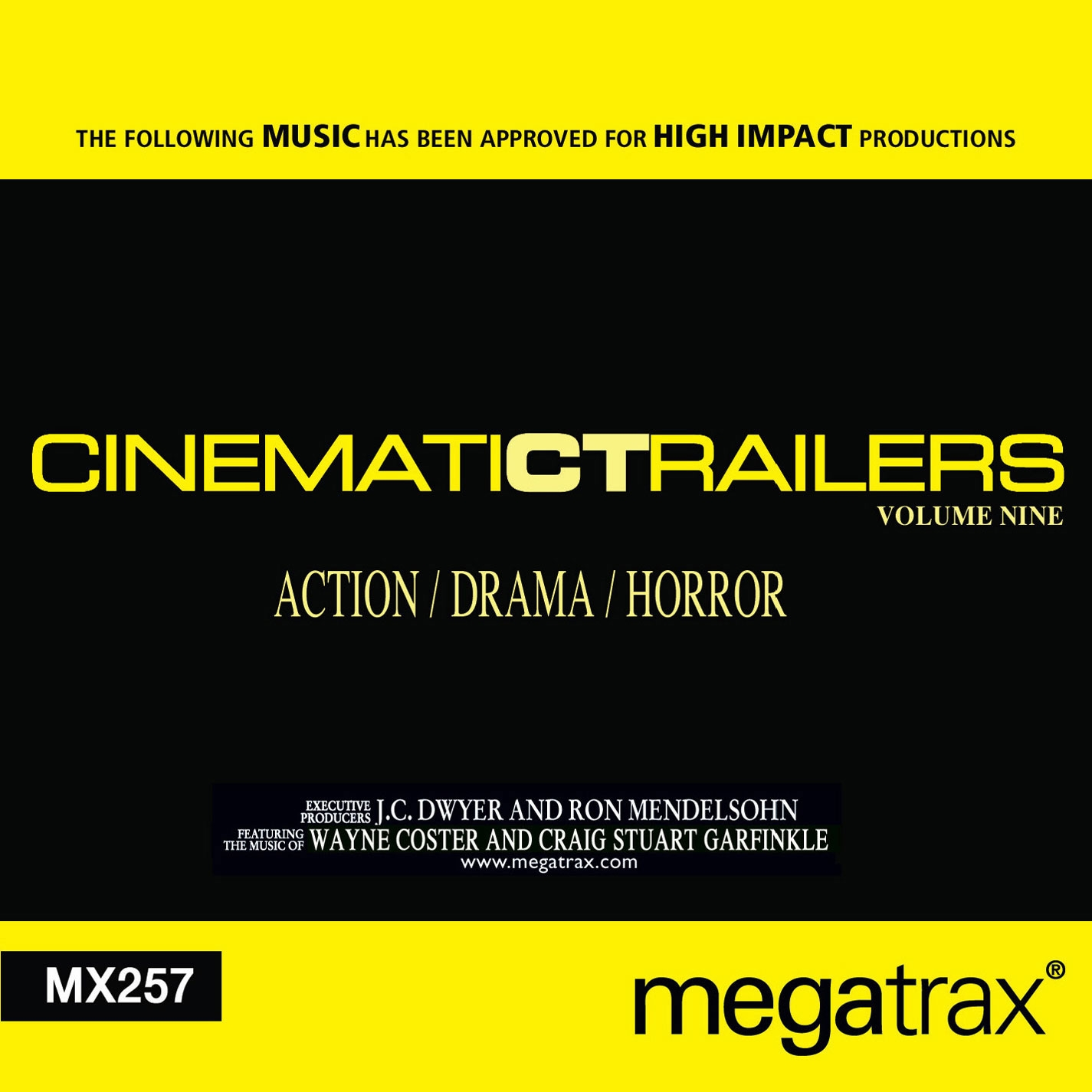 Cinematic Trailers 9: Action / Drama / Horror